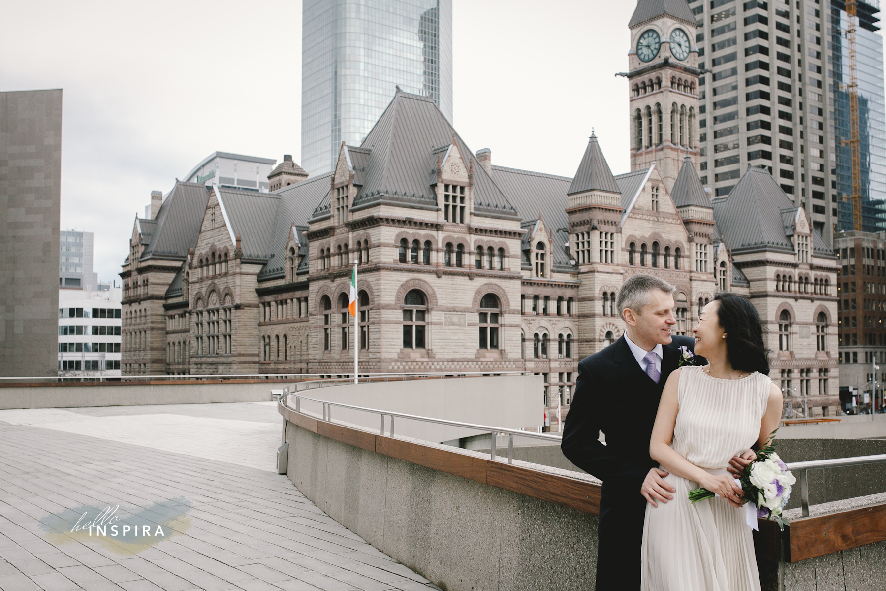 Hello Inspira Toronto City Hall Elopement