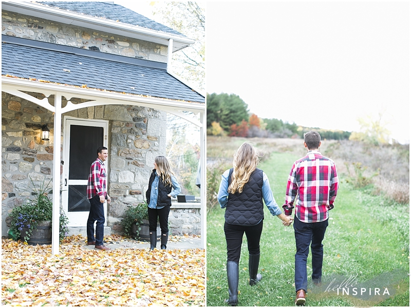 engagement session upnorth