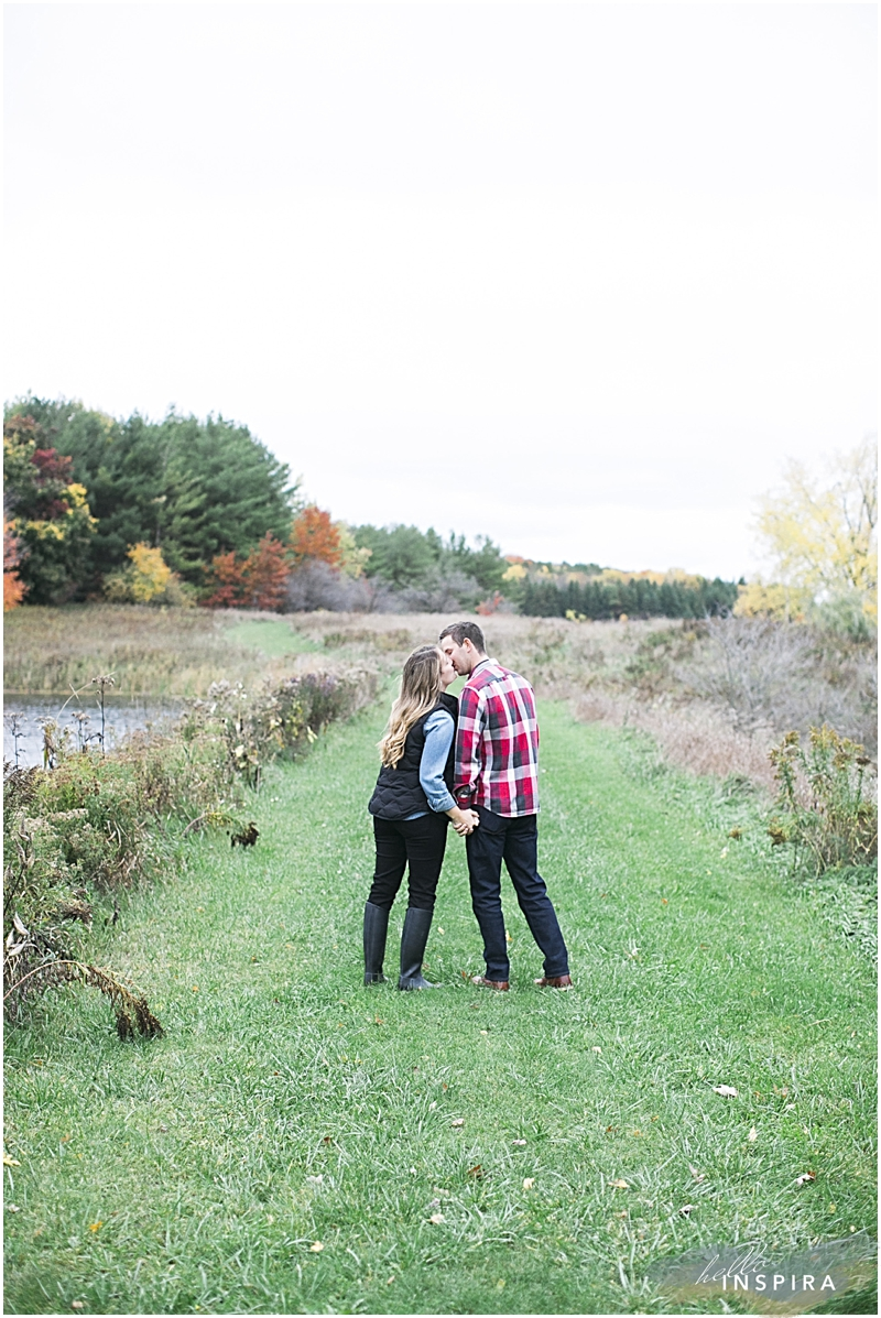 toronto autumn engagement session