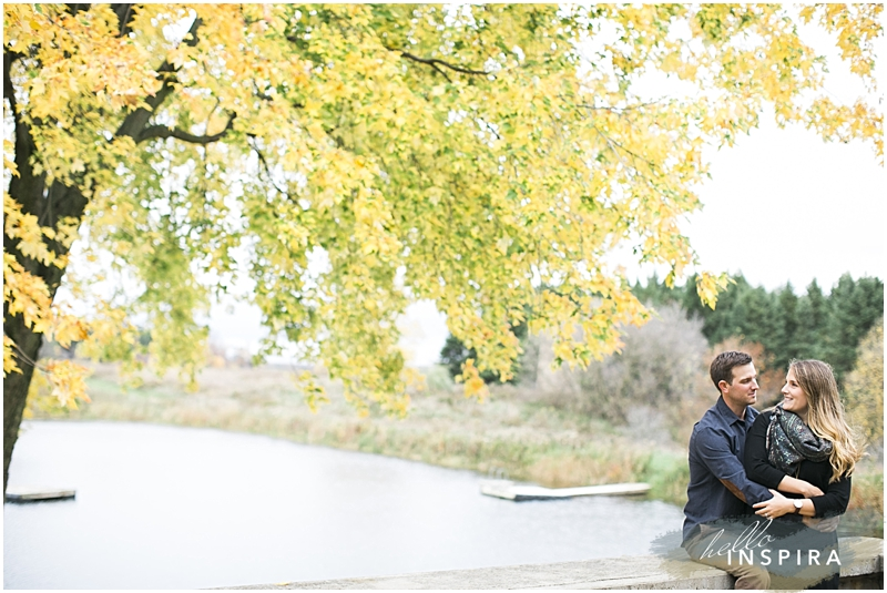 toronto outdoor engagement session
