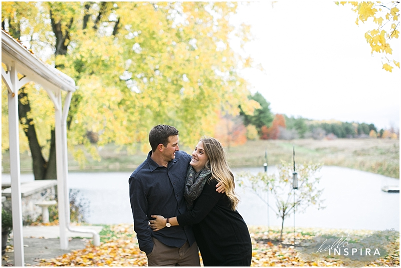 richmond hill outdoor engagement session