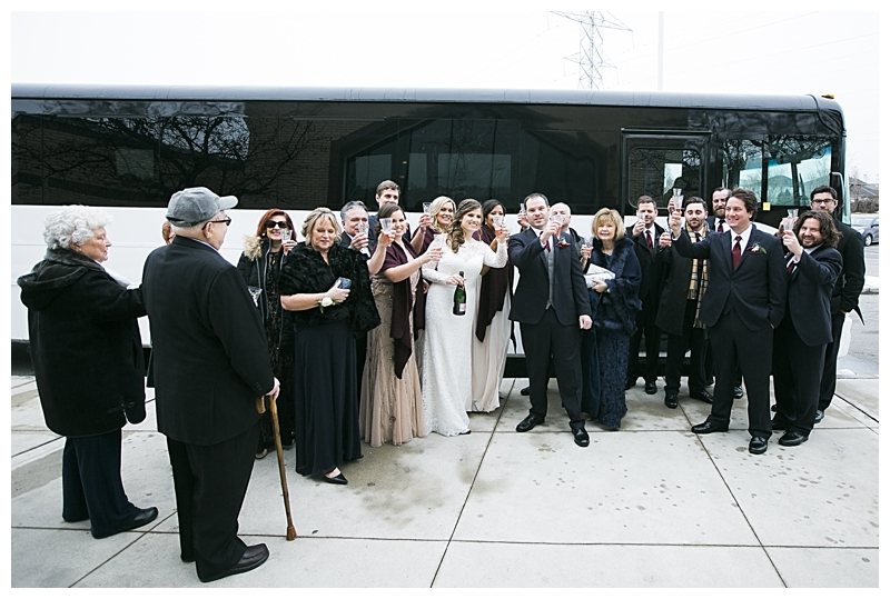 toronto party bus for wedding