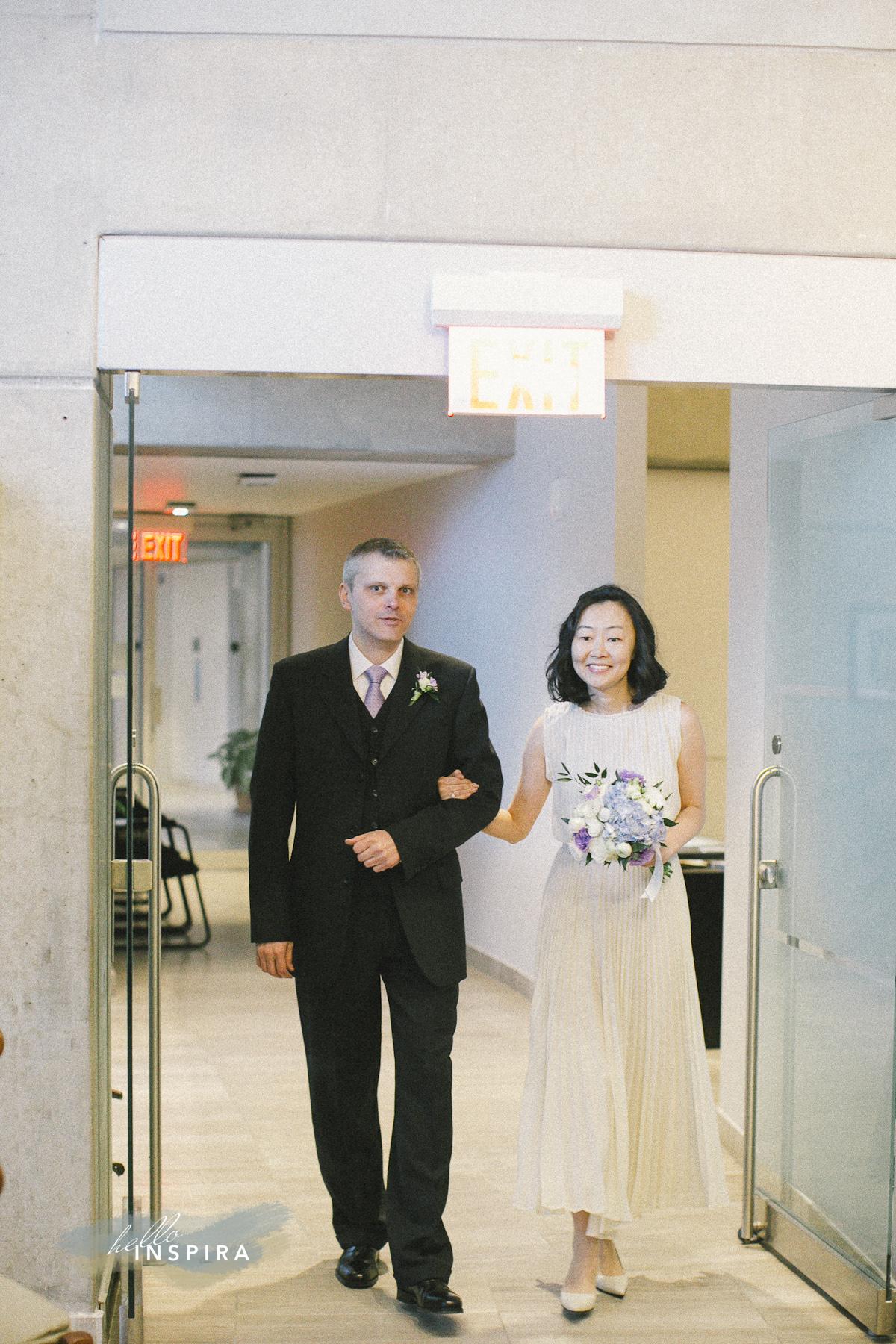 Toronto City Hall Wedding Chamber